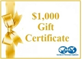 $1,000 Gift Certificate