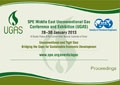 2013 SPE Middle East Unconventional Gas Conference & Exhibition