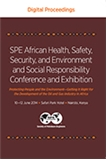 2014 SPE African Health, Safety, Security and Environment and Social Responsibility Conference and Exhibition