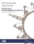 SPE Salary Survey Archive of Highlights (1967-2015)